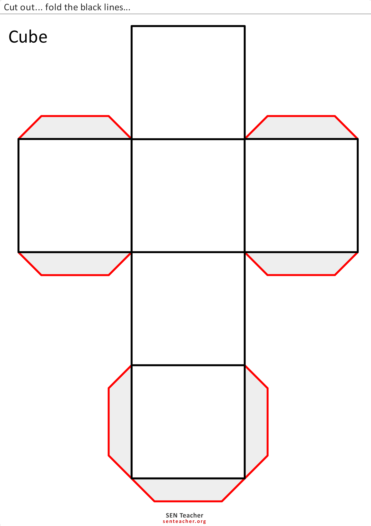 area and prism Where s is the side length of the square faces: explore & play with surface area in the animation below, hit the play button to watch the net fold up into a three-dimensional prism hit the pause button at any time to freeze the animation.